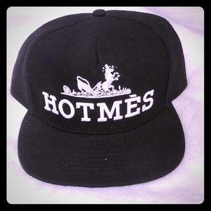 UNIF Hotmes Black SnapBack Hat 🧢